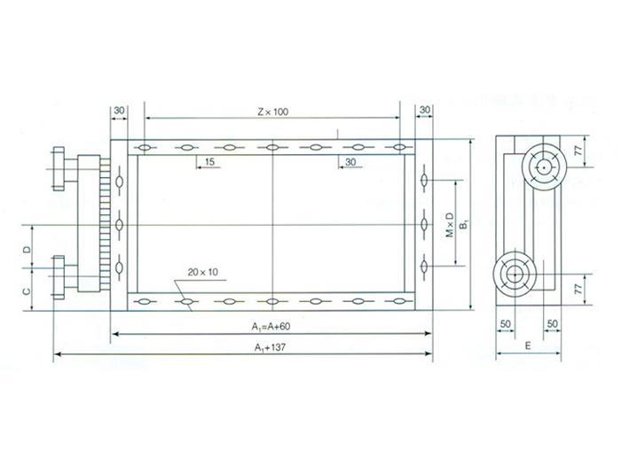 KLxi列表面ling却器